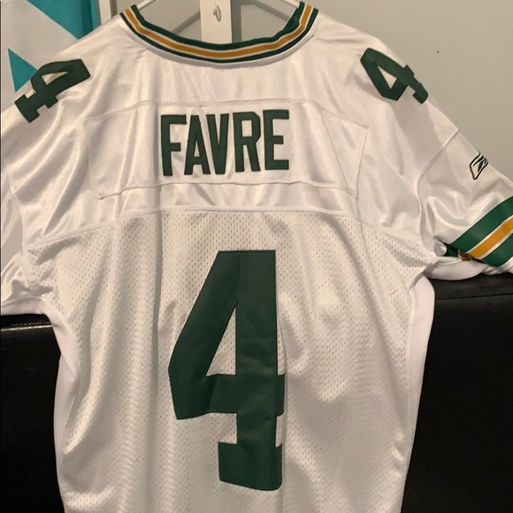 the latest af545 0c786 100% Stitched never worn Brett Favre jersey W TAGS NWT